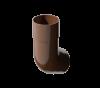 Колено трубы 135 VERAT Шоколад