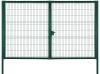 Ворота Profi 2.43х4.0м RAL 6005