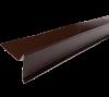 Гибка Планка ветровая 2000x90x30x60 мм (полиэстер) Коричневый