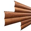 Сайдинг WoodStock Бревно330/354 Золотой дуб (Текстурированный)