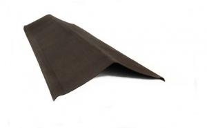 Щипец (Торцевая планка)  Ондуллин 0,2*1100  мм Коричневый
