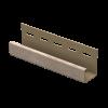 J профиль Ю-пласт 3050 мм Дуб натуральная