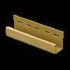 J профиль Ю-пласт 3050 мм Дуб золотистый