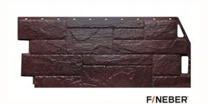Фасадная панель FineBer сер. Камень Природный 1085*447 мм 0,4 м2
