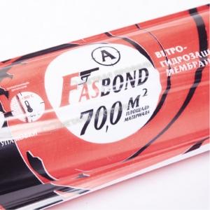 Мембрана гидроизоляционная ветрозащитная Fasbond (16х43,75м)