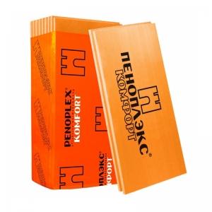 Пеноплэкс 20х1200х600 листы полистерольные вспененные  экструзионные